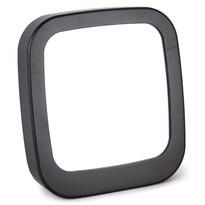 Zrcadlo Piazza černá, 18,5 x 19,5 cm