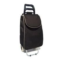 Nákupní taška na kolečkách CARRIE, černá