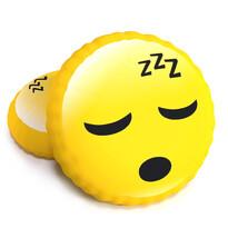 Pernă cu formă 3D, smiley Somn Zzz, 40 cm