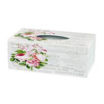 Pudełko na chusteczki Garden rose, 24,5 cm