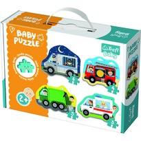 Trefl Puzzle Baby Dopravní prostředky, 4 ks