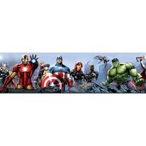 Bordură autoadezivă Avengers, 500 x 14 cm