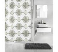 Koupelnový závěs Retro Meusch šedá, 180 x 200 cm
