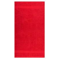 Olivia törölköző, piros, 50 x 90 cm