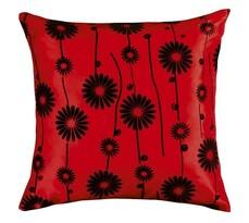 Poduszka - jasiek Dora, czerwona, 45 x 45 cm