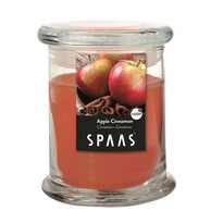 SPAAS Vonná svíčka ve skle Apple Cinnamon, 11 cm