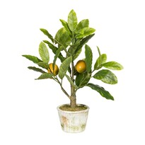 Umělá bonsaj Citrónovník, 40 cm