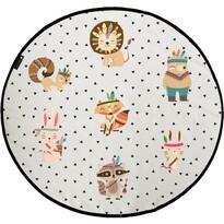 Butter Kings Mata do zabawy dla dzieci Indians, 130 cm