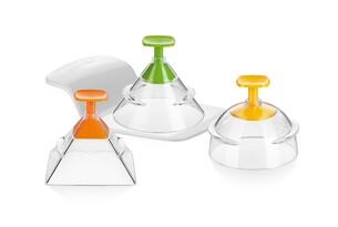 Tescoma Presto Foodstyle 3D foremki do formowania