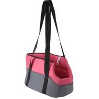 Geantă transport animale, roz 45 cm