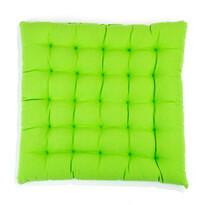 Sedák Adele nižší zelená, 39 x 39 cm