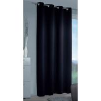 Zaciemniająca zasłona Mia czarny, 140 x 245 cm