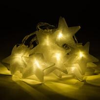 Star LED fényfüzér, 10 LED