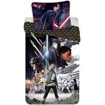 Detské bavlnené obliečky Star Wars VIII, 140 x 200 cm, 70 x 90 cm