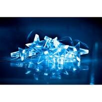 Solight Lampki świąteczne Gwiazdy 10 LED, niebieska, 1,5 cm