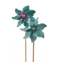Větrník modrá, pr. 17 cm