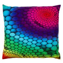 Polštářek Puntíky barevná, 40 x 40 cm