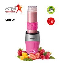 Concept SM3383 Smoothie maker  Active Smoothie 500 W růžová 1 x 570 ml
