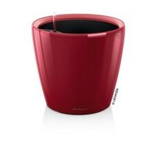 Lechuza Classico LS 21 plastový kvetináč samozavlažovací červená
