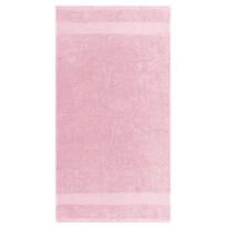 Osuška Olivia světle růžová, 70 x 140 cm