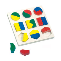 Bino Puzzle Figury geometryczne