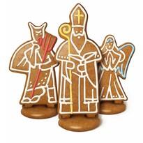 Komplet foremek do wykrawania DELÍCIA, Św. Mikołaj, Anioł, Diabeł