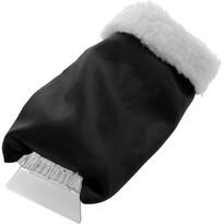Autoškrabka s rukavicou, čierna
