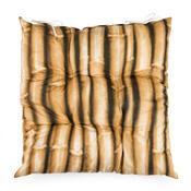 Sedák bambus hnědá, 40 x 40 cm