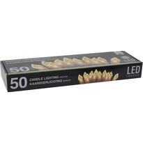 Svetelná vianočná reťaz Genazzano teplá biela, 50 LED
