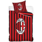 Bavlněné povlečení AC Milán, 140 x 200 cm, 70 x 80 cm
