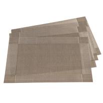 Prostírání Harmonie šedá, 30 x 45 cm, sada 4 ks