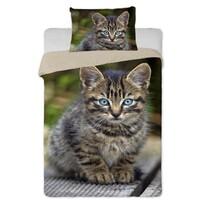 Bavlnené obliečky Mačiatko 01, 140 x 200 cm, 70 x 90 cm