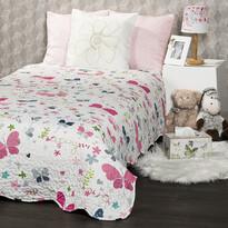 4Home Narzuta na łóżko dla dzieci Butterfly, 140 x 200 cm