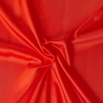 Saténové prestieradlo červená, 90 x 200 cm
