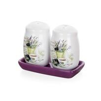 Banquet Lavender solniczka i pieprzniczka