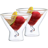 4home Pahare termo Martini Elegante Hot&Cool 200 ml, 2 buc.