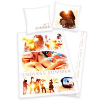 Bavlněné povlečení Summer, 135 x 200 cm, 80 x 80 cm
