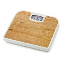 Osobní mechanická váha Plank Pine, hnědá