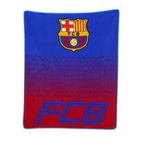Fleecová deka FC Barcelona, 150 x 125 cm