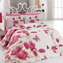 Alize Pink pamut ágyneműhuzat, 140 x 200 cm, 70 x 90 cm