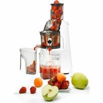 Concept LO7066 Wyciskarka wolnoobrotowa do owoców i warzyw Home made juice, biały