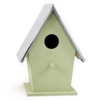 Domek dla ptaków, zielony
