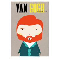 Plakát van Gogh, 42 x 59 cm