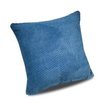 Poszewka na poduszkę Baku niebieski, 40 x 40 cm
