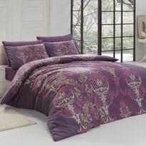 Bavlnené obliečky Julie fialová, 140 x 200 cm, 70 x 90 cm