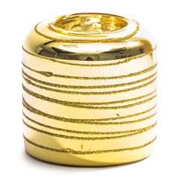 Svietnik valec zlatá