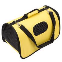 Transportná taška na domáceho maznáčika, žltá