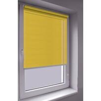 Roleta Mini Words žlutá, 80 x 140 cm