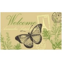 Preş Welcome butterfly, 40 x 60 cm