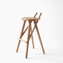 Barová stolička 02, jaseň masív